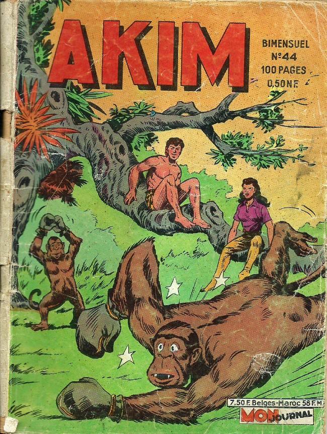 Couverture de Akim (1re série) -44- L'étoile polaire