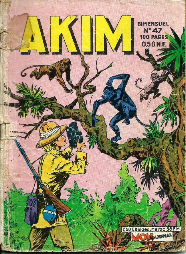 Couverture de Akim (1re série) -47- Le trésor des soucoupes volantes