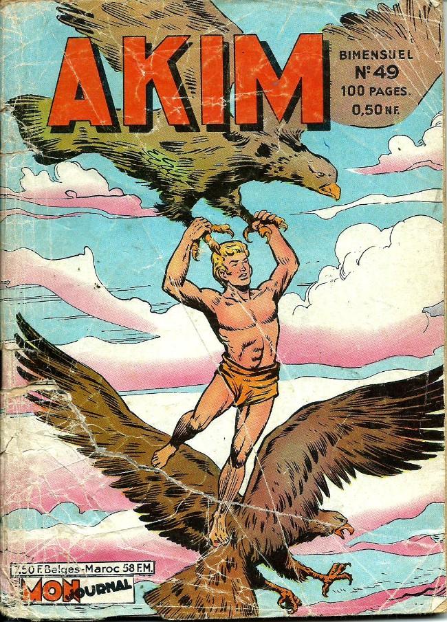 Couverture de Akim (1re série) -49- Le lac des crocodiles