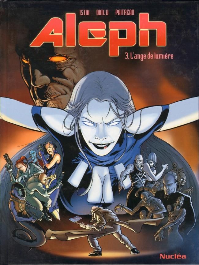 Couverture de Aleph (Dim. D) -3- L'ange de lumière