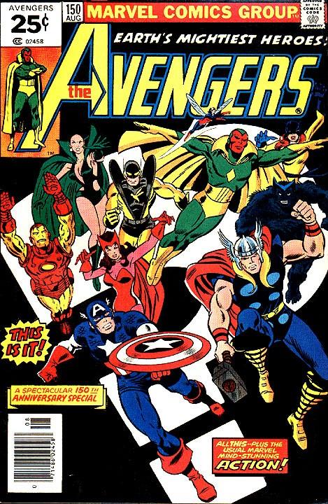 Couverture de Avengers Vol. 1 (Marvel Comics - 1963) -150- Avengers assemble!