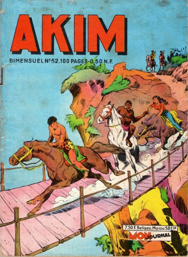 Couverture de Akim (1re série) -52- La gorge du loup