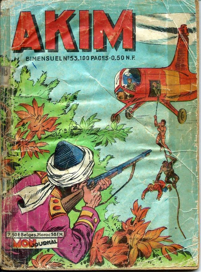 Couverture de Akim (1re série) -53- Le passage secret