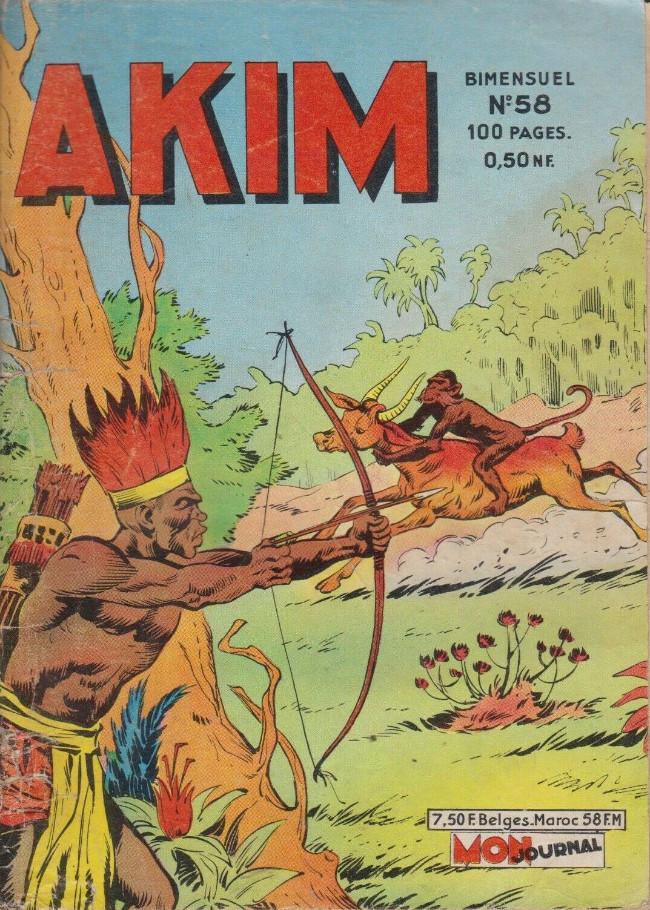 Couverture de Akim (1re série) -58- Le défi des aigles
