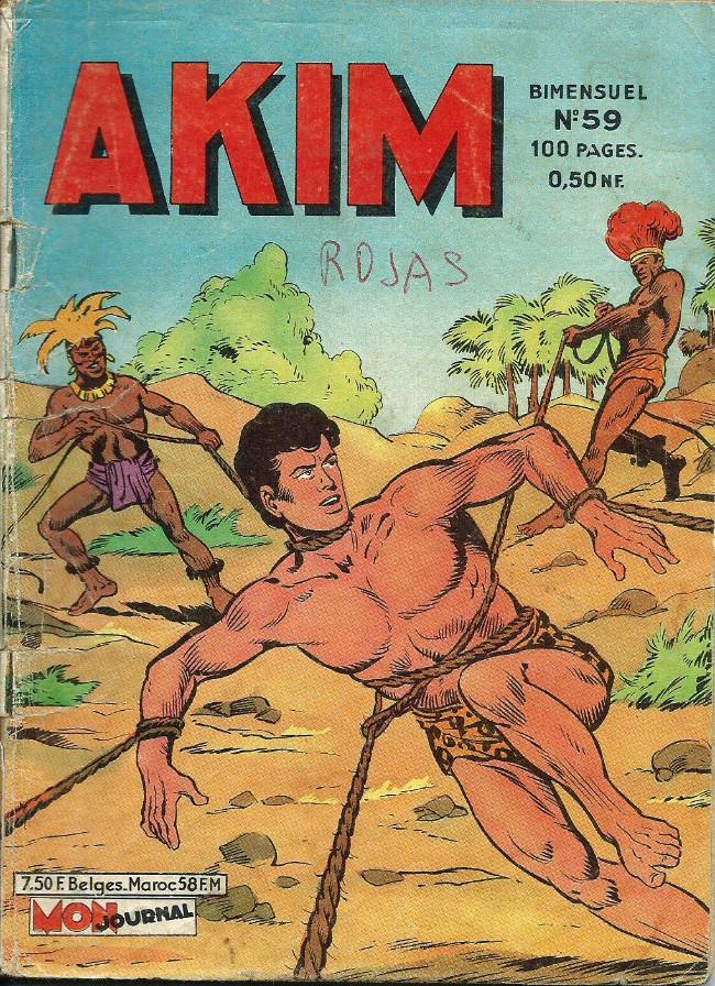 Couverture de Akim (1re série) -59- Attaque nocturne
