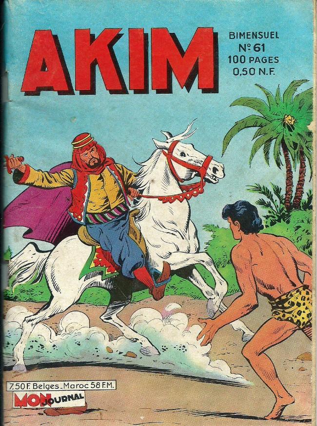 Couverture de Akim (1re série) -61- Dans la gueule du loup