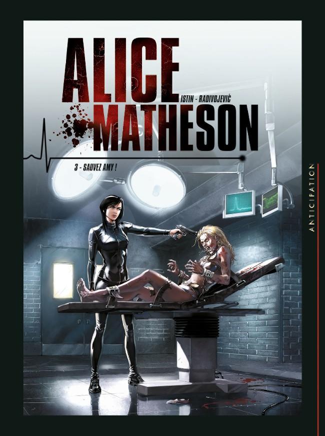 Couverture de Alice Matheson -3- Sauvez Amy !