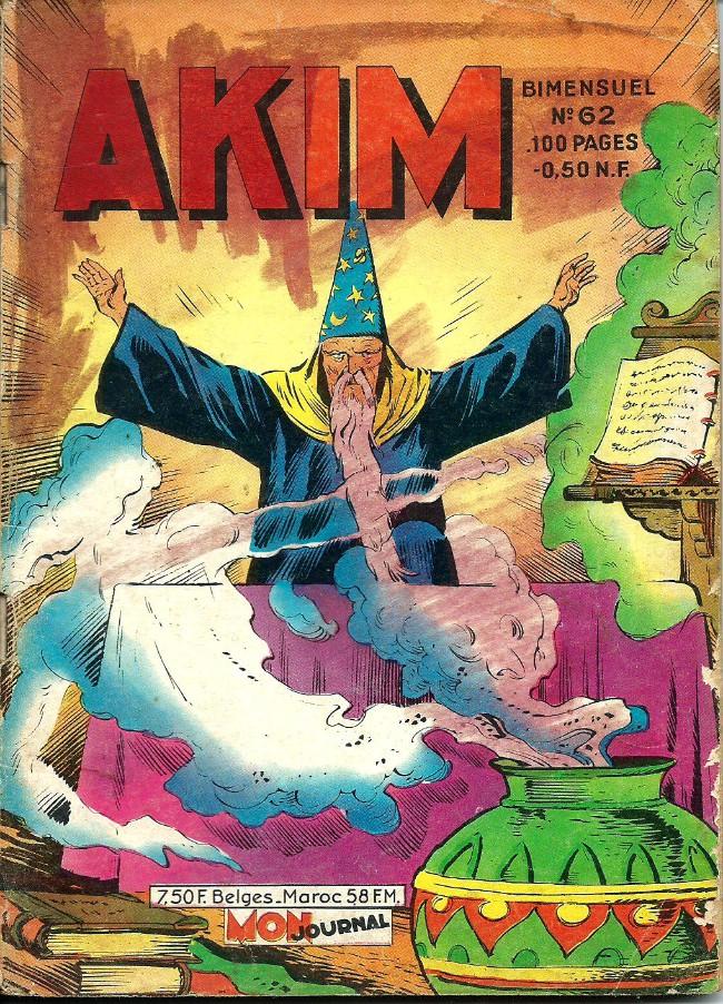 Couverture de Akim (1re série) -62- Le trésor des pharaons