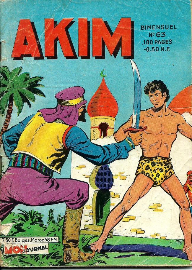 Couverture de Akim (1re série) -63- L'abdication de Bajan