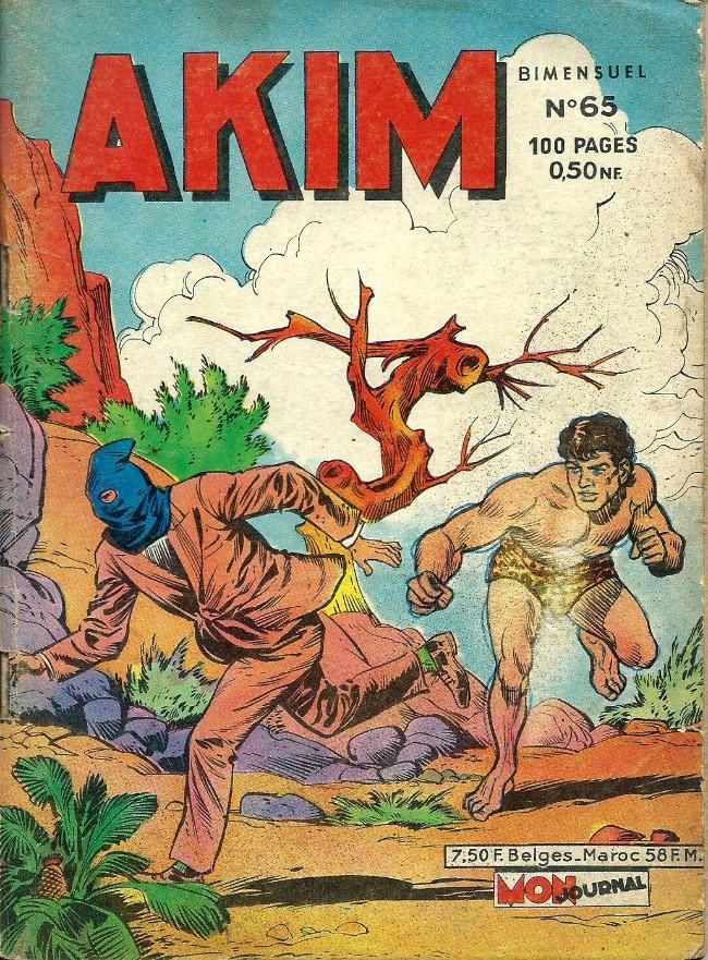 Couverture de Akim (1re série) -65- L'ultime carte du chef mystérieux
