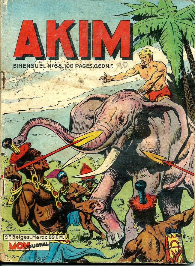 Couverture de Akim (1re série) -68- Le pari de Bill Parkin