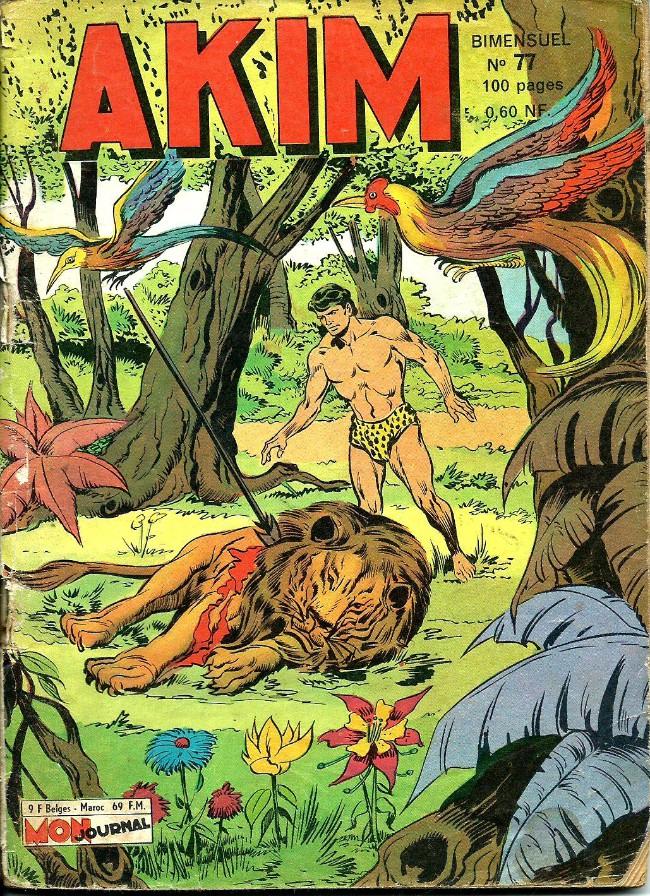 Couverture de Akim (1re série) -77- Les diables volants