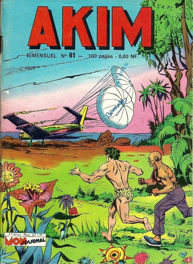 Couverture de Akim (1re série) -81- L'île en flammes