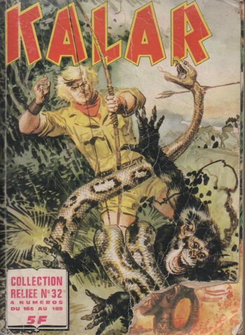 Couverture de Kalar -Rec32- Collection Reliée N°32 (du n°166 au n°169)
