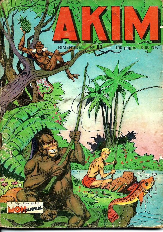 Couverture de Akim (1re série) -83- Le désert noir