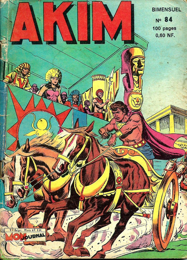 Couverture de Akim (1re série) -84- La reine Isis