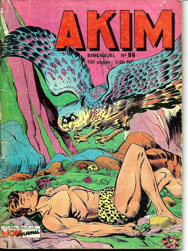 Couverture de Akim (1re série) -86- Tun le grand, le roi des hiboux