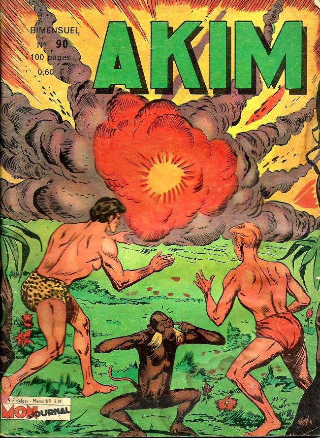 Couverture de Akim (1re série) -90- Sirénus, le mystérieux homme grenouille...