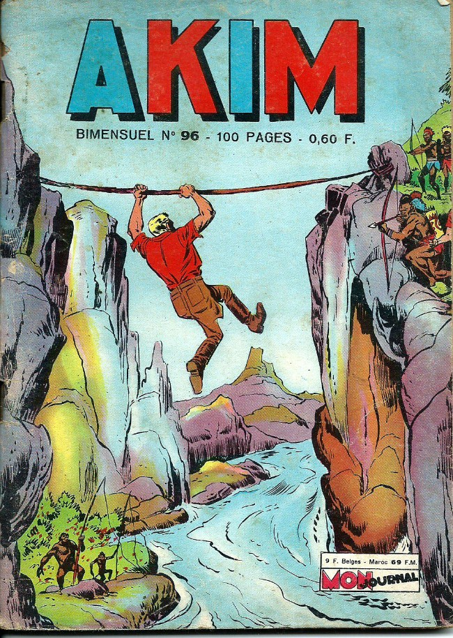 Couverture de Akim (1re série) -96- L'élément zéro