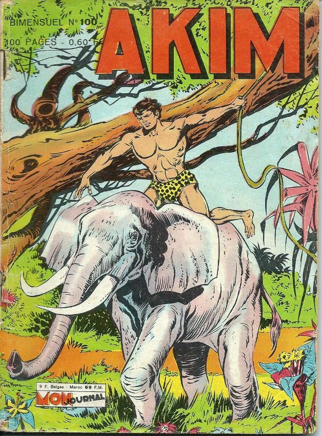 Couverture de Akim (1re série) -100- Le vengeur