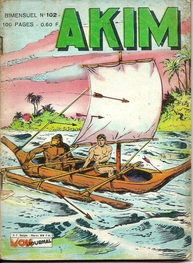 Couverture de Akim (1re série) -102- Le secret de monseigneur