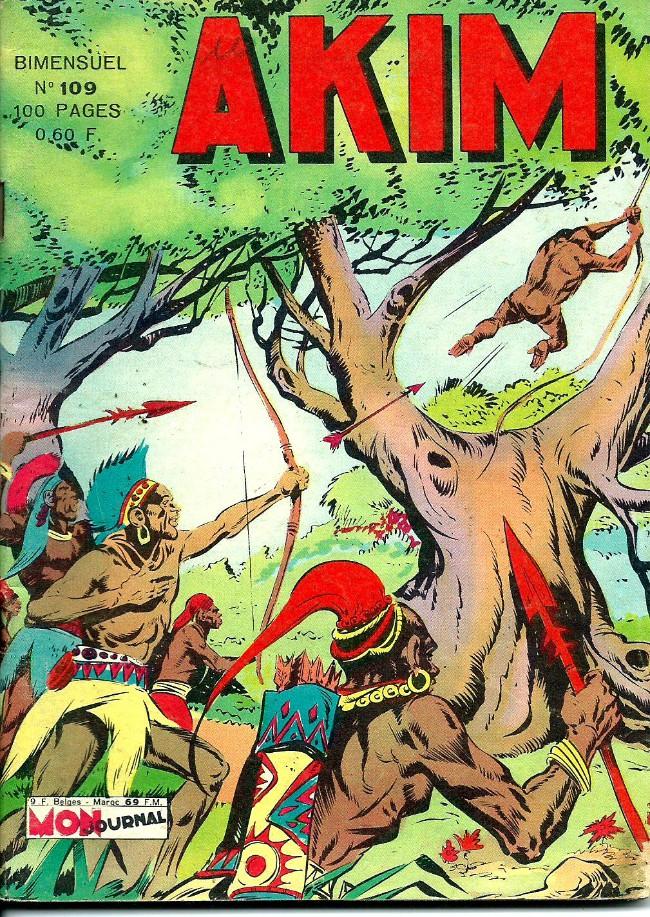Couverture de Akim (1re série) -109- Au fond de l'abîme