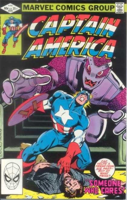 Couverture de Captain America (Marvel comics - 1968) -270- Someone Who Cares !