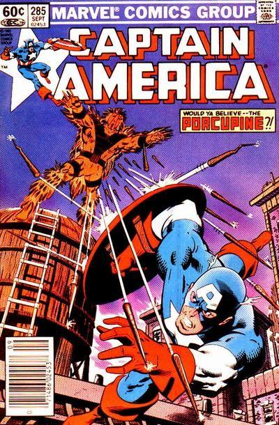 Couverture de Captain America (1968) -285- Letting Go