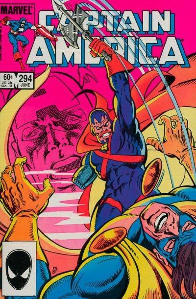 Couverture de Captain America (Marvel comics - 1968) -294- The Measure of a Man!