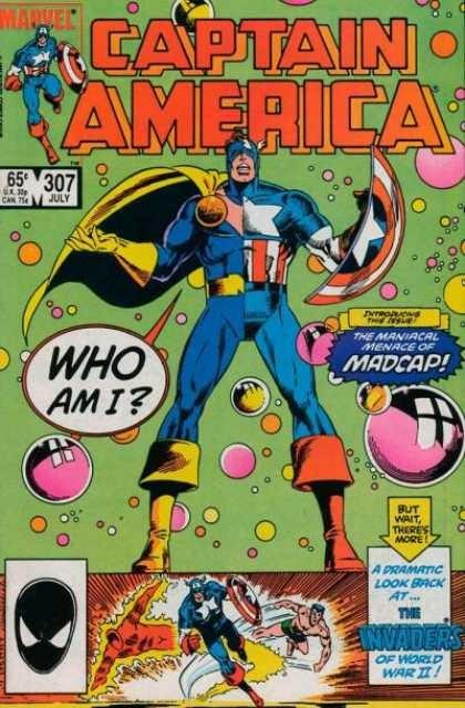 Couverture de Captain America (1968) -307- Stop Making Sense