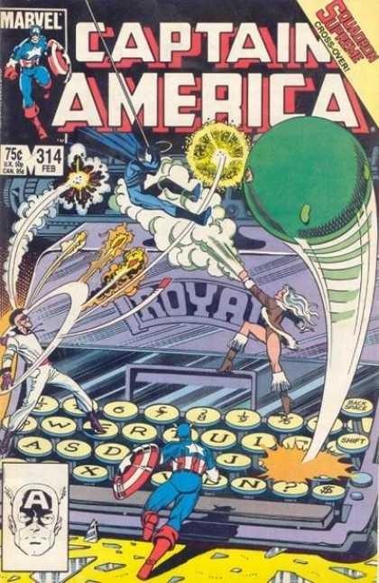 Couverture de Captain America (1968) -314- Asylum