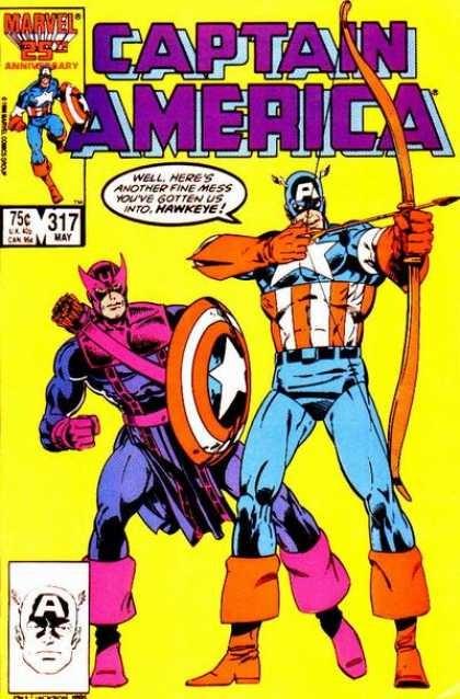 Couverture de Captain America (1968) -317- Death-Throws