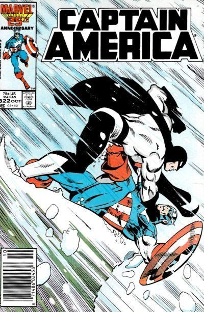 Couverture de Captain America (Marvel comics - 1968) -322- The Chasm