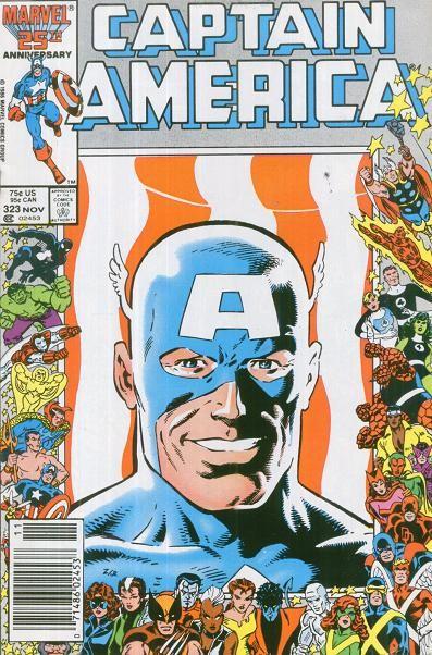 Couverture de Captain America (1968) -323- Super-Patriot is Here