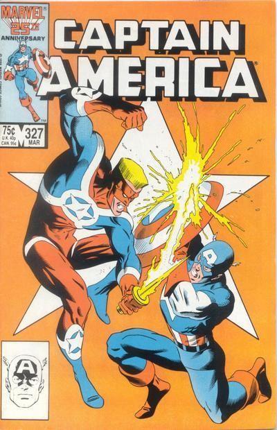 Couverture de Captain America (1968) -327- Clashing Symbols