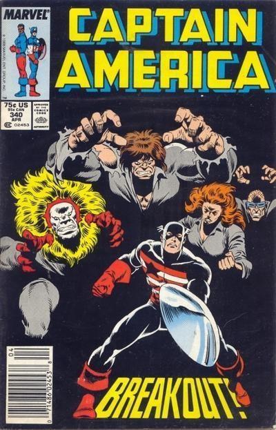 Couverture de Captain America (1968) -340- Breakout