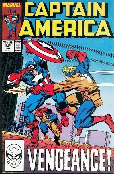 Couverture de Captain America (Marvel comics - 1968) -347- Vengeance