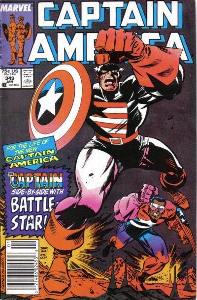 Couverture de Captain America (Marvel comics - 1968) -349- Icecap
