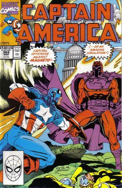 Couverture de Captain America (1968) -368- Issue 368