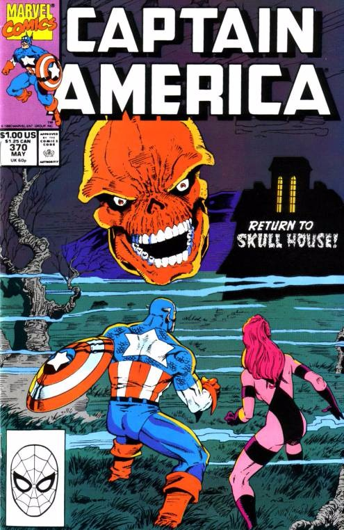 Couverture de Captain America (1968) -370- Return to Skull House