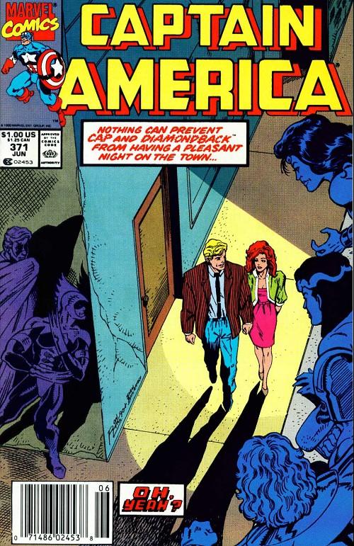 Couverture de Captain America (1968) -371- Issue 371