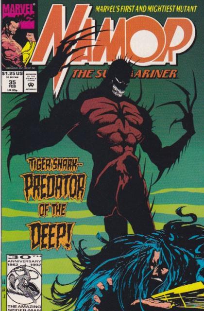 Couverture de Namor, The Sub-Mariner (Marvel - 1990) -35- Dark Awakenings