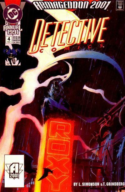 Couverture de Detective Comics (1937) -AN04- Armageddon 2001: Succession