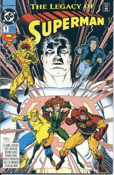 Couverture de Superman: The Legacy of Superman (1993) -1- The Legacy of Superman
