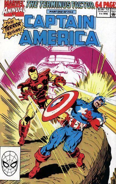 Couverture de Captain America (Marvel comics - 1968) -AN09- The terminus factor part 1