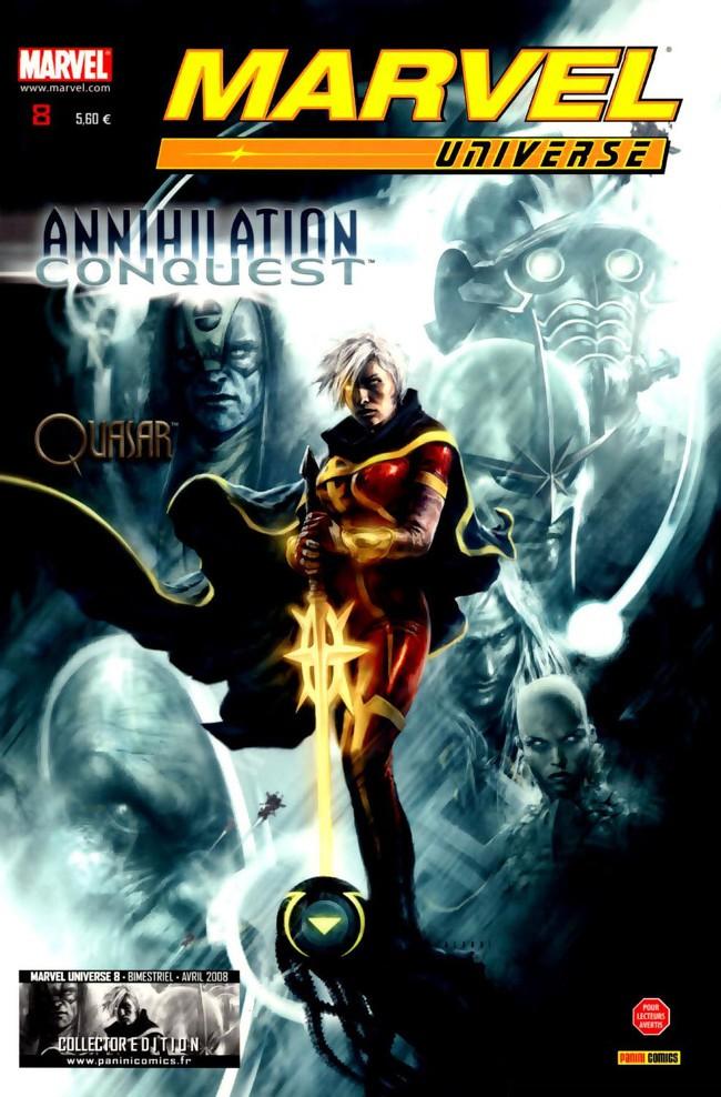 Couverture de Marvel Universe (Panini - 2007) -8- Annihilation : Conquête (1)