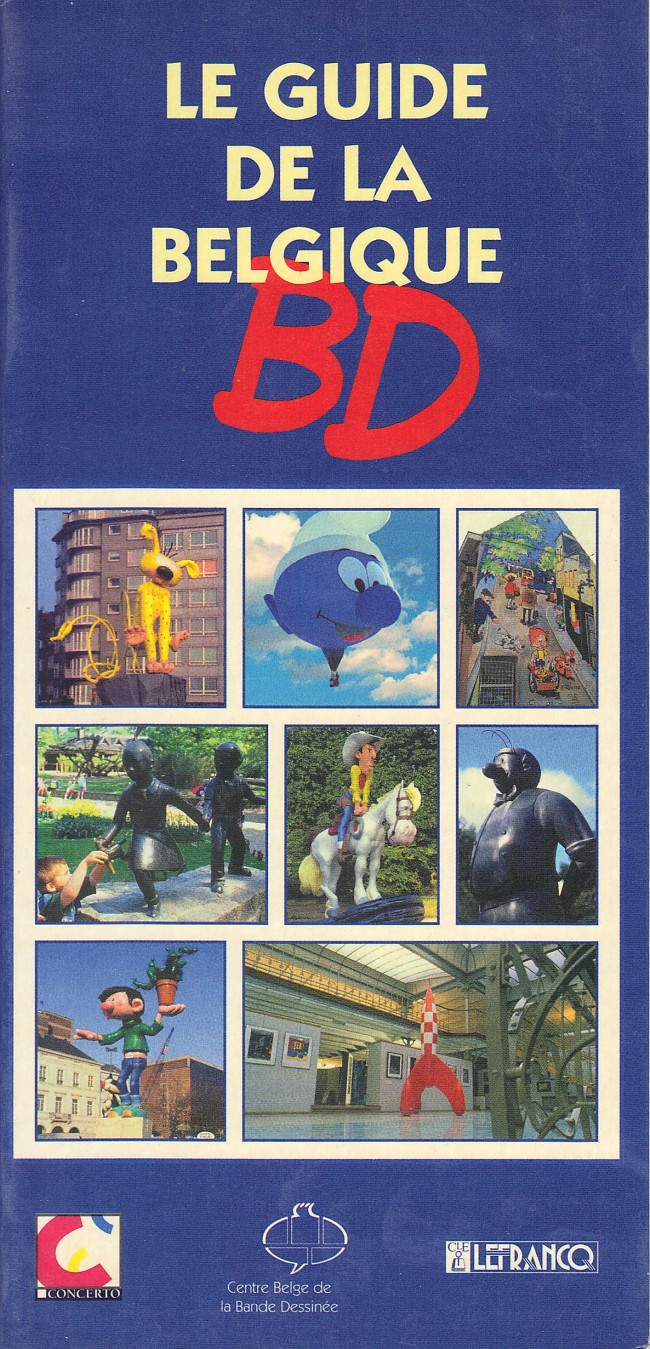Couverture de (DOC) Études et essais divers - Le guide de la Belgique BD