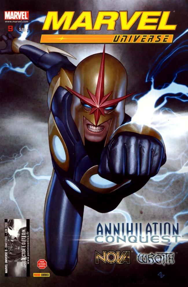 Couverture de Marvel Universe (Panini - 2007) -9- Annihilation : Conquête (2)