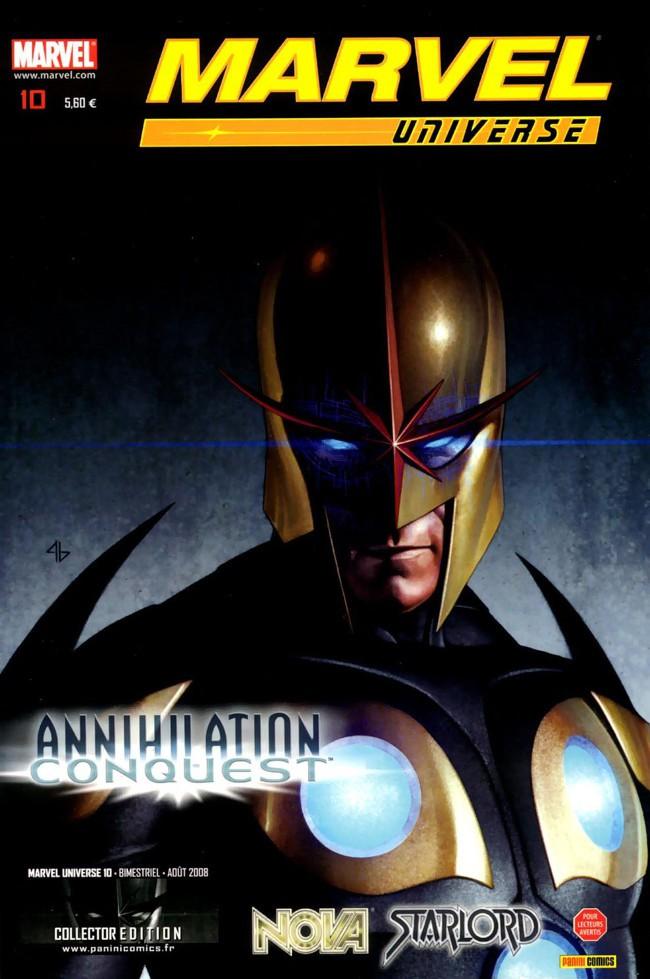 Couverture de Marvel Universe (Panini - 2007) -10- Annihilation : Conquête (3)