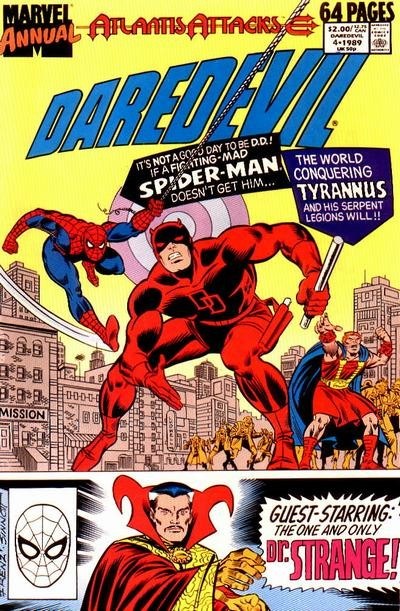 Couverture de Daredevil (1964) -AN05- Atlantis attacks part 7
